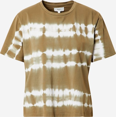 Marškinėliai 'HERA' iš OBJECT , spalva - alyvuogių spalva / balta, Prekių apžvalga