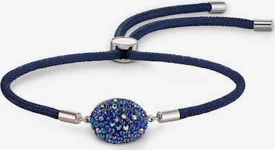 Swarovski Armband in blau / navy / silber, Produktansicht