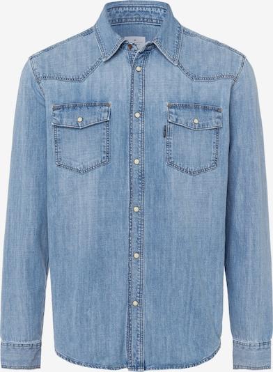 Cross Jeans Hemd in blue denim, Produktansicht