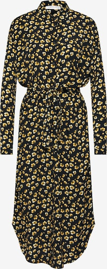 MOSS COPENHAGEN Robe-chemise 'Amber Genni' en jaune / noir, Vue avec produit