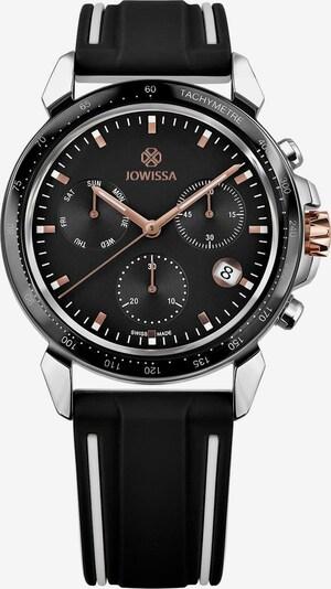 JOWISSA Quarzuhr 'LeWy 9' Swiss Men's Watch in schwarz / silber, Produktansicht