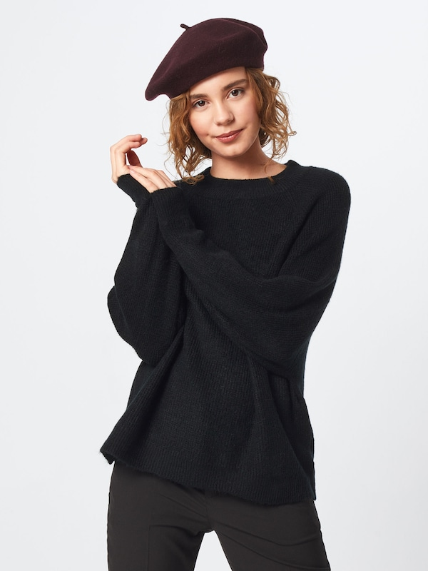 Trui 'drama Mock Neck' Gap In Zwart Sleeve H2WIEYDe9
