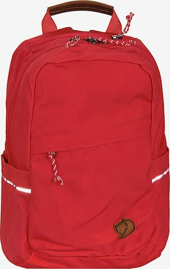 Fjällräven Sportrugzak in de kleur Rood, Productweergave