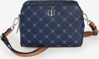 Basler Handtasche in navy / silber, Produktansicht