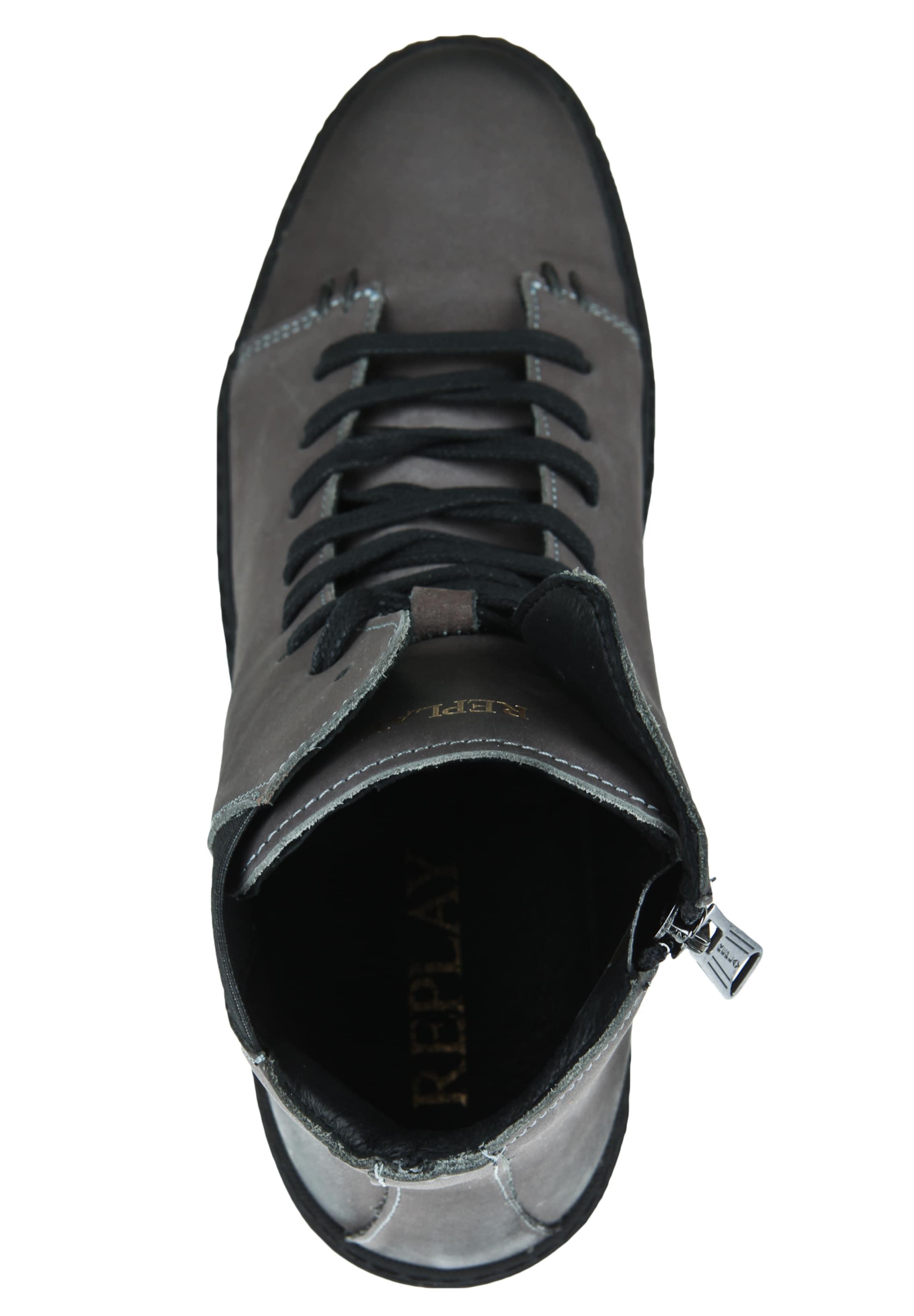 In Replay 'bloom' DunkelgrauSchwarz Sneaker n0Ok8Pw