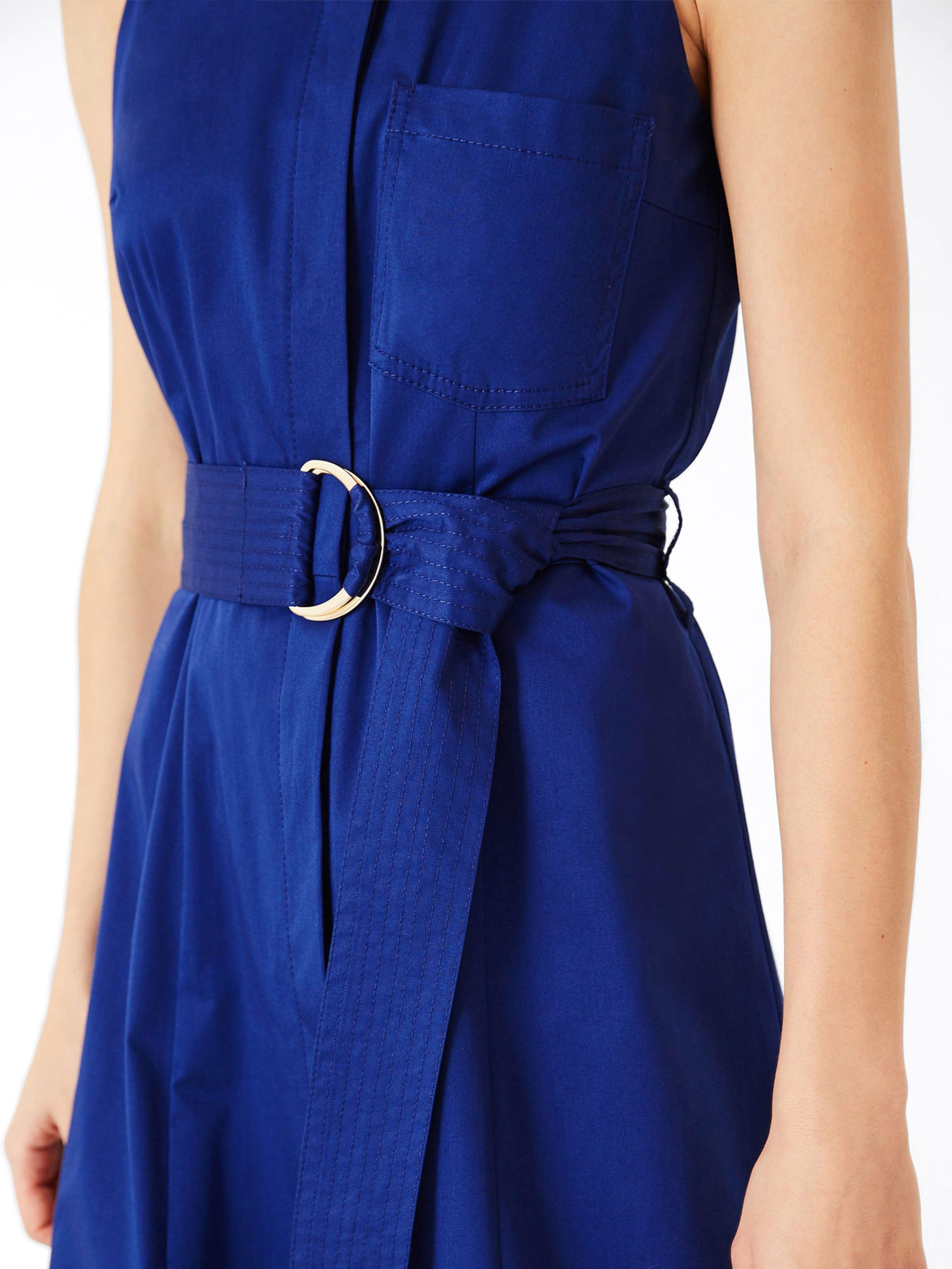 'midi Dress' Kleid Ivyamp; In Blau Oak 80wvmnN