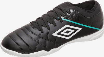 UMBRO Fußballschuh 'Medusae III' in jade / schwarz / weiß: Frontalansicht