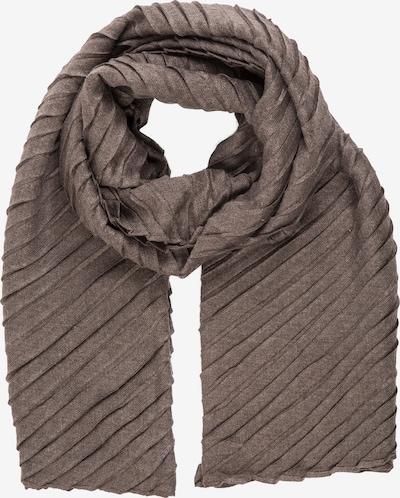 APART Schal im Plissée-Look in braunmeliert, Produktansicht