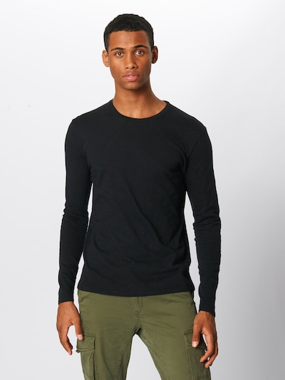 Marškinėliai 'BYSAPICK' iš AMERICAN VINTAGE , spalva - juoda: Vaizdas iš priekio