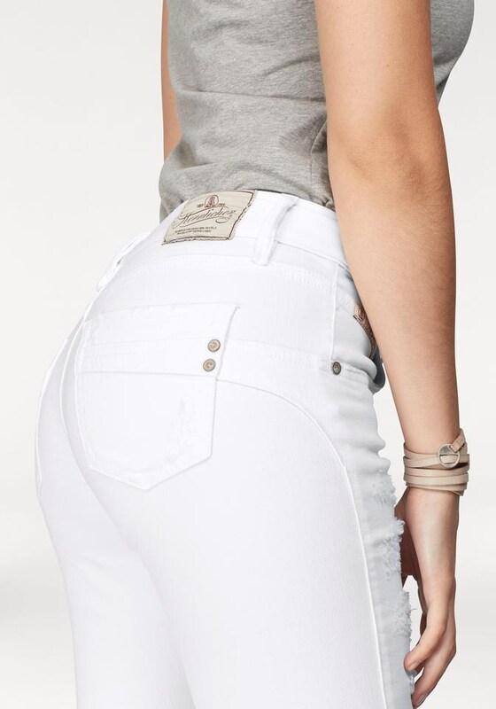 Herrlicher Slim-fit-Jeans 'Touch Cropped'