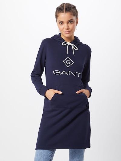 GANT Haljina u tamno plava / bijela: Prednji pogled
