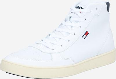 Tommy Jeans Sneakers hoog in de kleur Navy / Rood / Wit, Productweergave