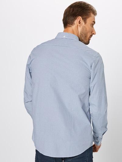 Dalykiniai marškiniai iš SCOTCH & SODA , spalva - tamsiai mėlyna: Vaizdas iš galinės pusės