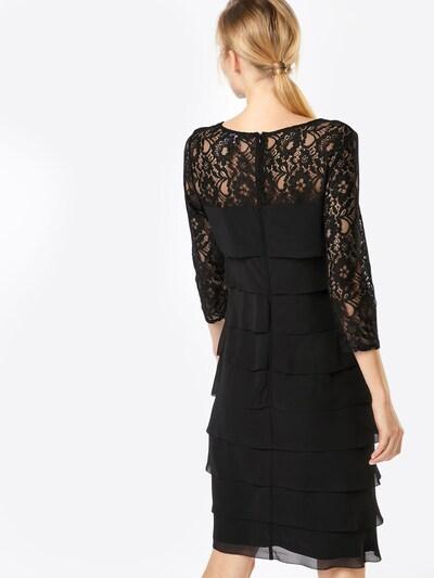 heine Koktel haljina u crna: Pogled straga