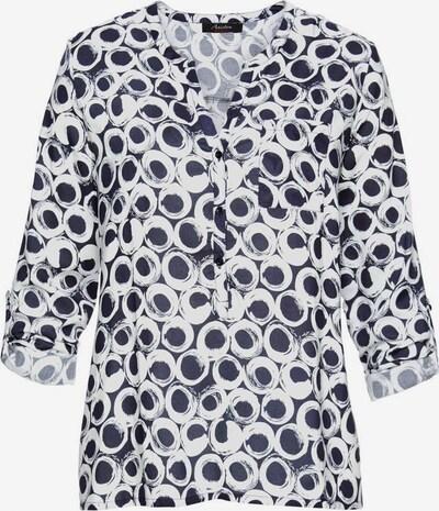 ANISTON Bluse in marine / weiß, Produktansicht
