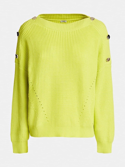 GUESS Pullover in neongelb, Produktansicht