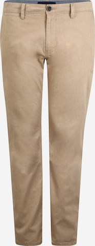 Pantalon chino TOM TAILOR en beige