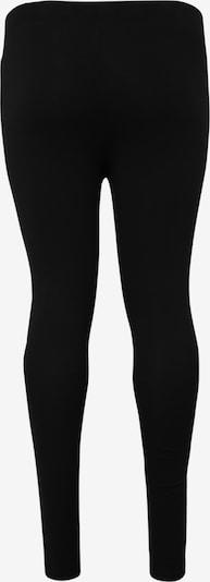 Urban Classics Curvy Pantalon 'Ladies Laces Inset Leggings' en noir: Vue de dos