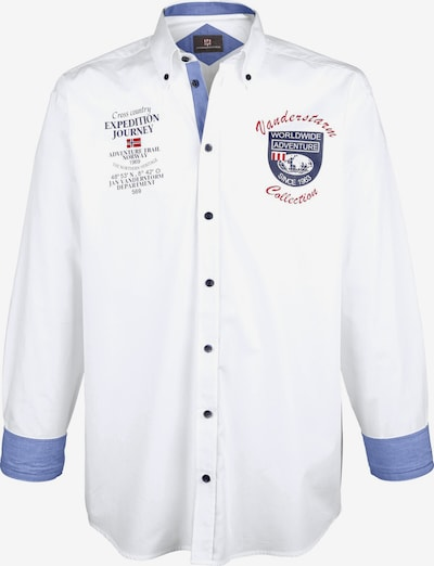 Jan Vanderstorm Hemd 'Hafis' in weiß, Produktansicht