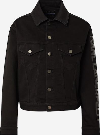 Karl Lagerfeld Denim Jacke 'WJ0021' in schwarz, Produktansicht