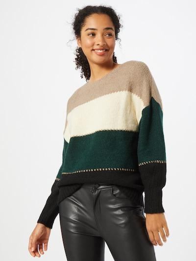Guido Maria Kretschmer Collection Pullover 'Annika' in beige / mischfarben: Frontalansicht