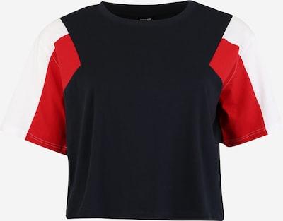Urban Classics Shirt in rot / schwarz / weiß, Produktansicht