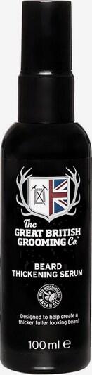 The Great British Grooming Co. Bartserum in schwarz / weiß, Produktansicht