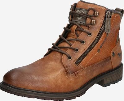 MUSTANG Čizme na vezanje u kestenjasto smeđa, Pregled proizvoda