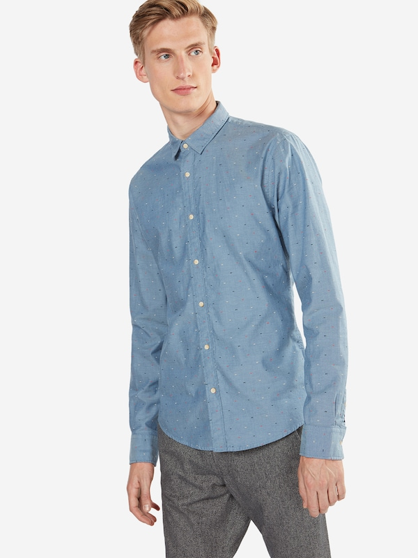 SCOTCH & SODA Hemd 'Classic oxford shirt in solids or with all-over print'
