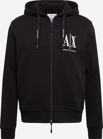 ARMANI EXCHANGE Sweatjacke '8NZMPP' in schwarz, Produktansicht