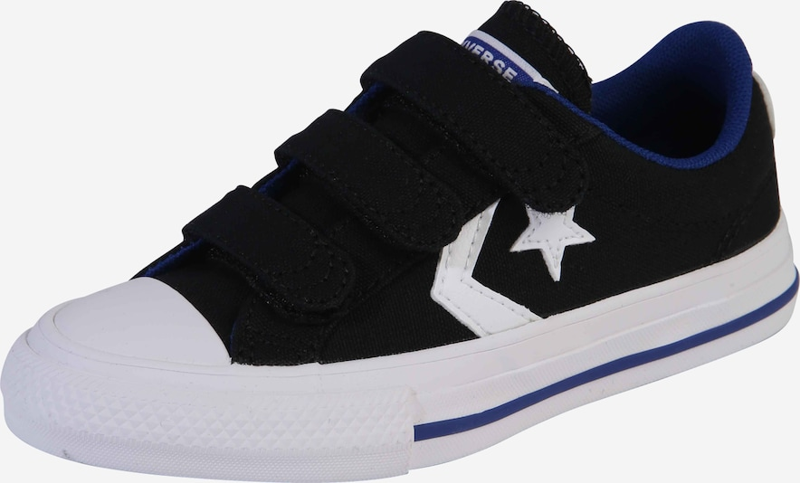 CONVERSE Schuhe 'STAR PLAYER 3V CANVAS - OX' in schwarz, Produktansicht
