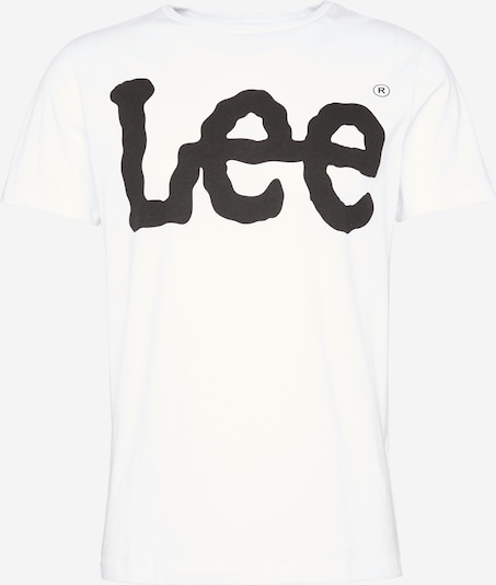 Lee T-Shirt in weiß, Produktansicht