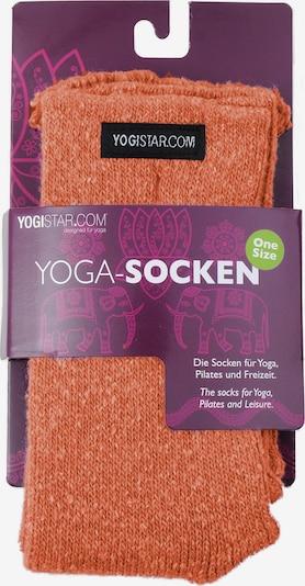 YOGISTAR.COM Yoga-socken in orange, Produktansicht