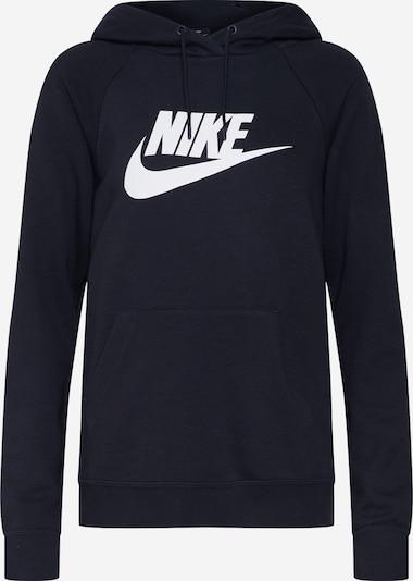 Nike Sportswear Sportisks džemperis 'Essential' melns / balts, Preces skats