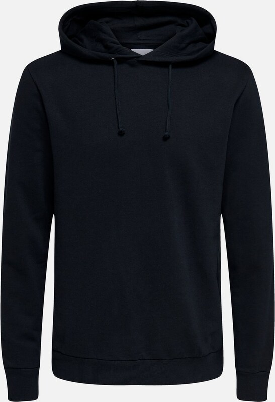 Only & Sons Sweatshirt in schwarz: Frontalansicht