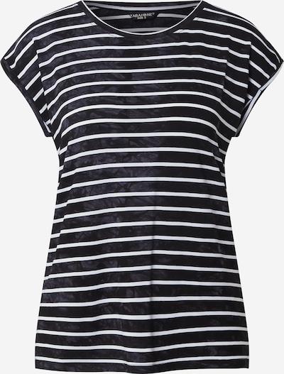 ZABAIONE Shirt 'Wiebke' in schwarz / weiß, Produktansicht