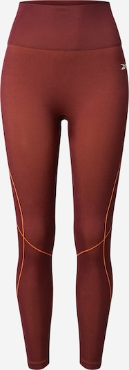 REEBOK Sportbroek in de kleur Sinaasappel / Wijnrood, Productweergave