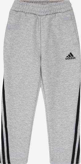 ADIDAS PERFORMANCE Sporthose in graumeliert / schwarz, Produktansicht