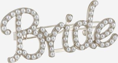 PIECES Haarclip 'BRIDE' in silber, Produktansicht