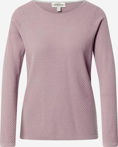 ESPRIT Sweter w kolorze bladofioletowy / mieszane kolorym: Widok z przodu