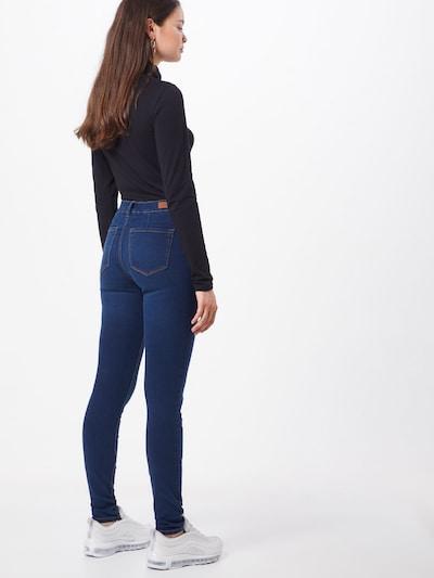 Džinsai 'Nela' iš TOM TAILOR DENIM , spalva - tamsiai (džinso) mėlyna: Vaizdas iš galinės pusės
