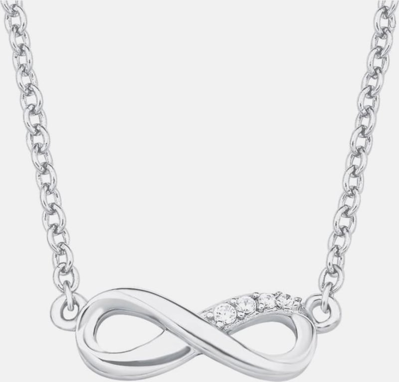 s.Oliver RED LABEL Silberkette 'Infinity/Unendlichkeit'