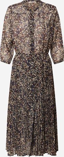 sessun Košulja haljina 'Painterly' u boja pijeska / mornarsko plava / bež siva / tamno crvena / crna, Pregled proizvoda