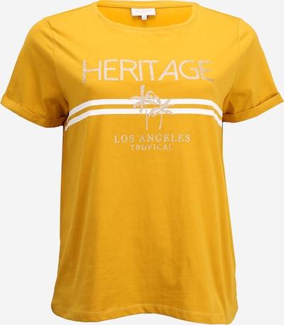 ONLY Carmakoma Shirt  'LENA' in senf, Produktansicht