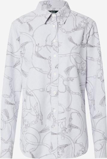 Lauren Ralph Lauren Blúzka 'JAMELKO-LONG SLEEVE-SHIRT' - sivá / biela, Produkt