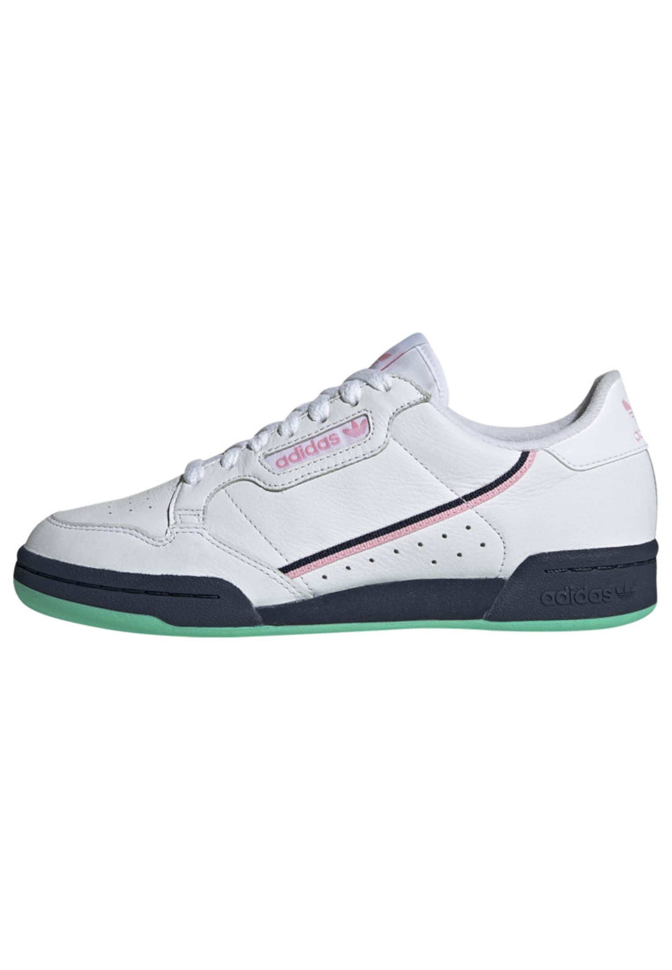 Adidas Originals 80' Blanc Basses 'continental Rose ClairNoir En Baskets 5AjL3R4