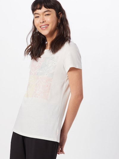 ESPRIT Shirt 'CORE' in offwhite: Frontalansicht