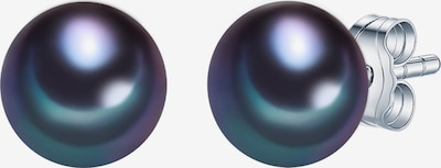 Valero Pearls Perlenohrstecker Süßwasser-Zuchtperle in enzian, Produktansicht
