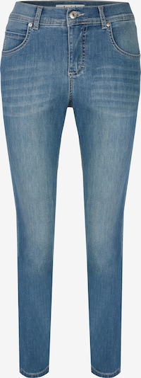 Angels Ankle-Jeans mit leichter Used-Waschung in hellblau, Produktansicht
