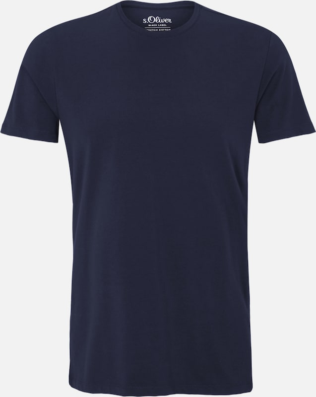 S.oliver Black Label Comfortable Stretch-shirt